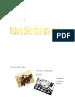 Historia Del Sindicalismo en Chile