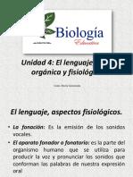 Unidad 4 El Lenguaje Fisiologia y Anatomia