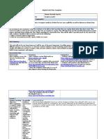 digital unit plan template ela