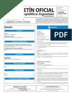 Boletín Oficial de la República Argentina, Número 33.503. 14 de noviembre de 2016