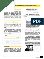 Lectura - La Tesis y La Postura en El Texto Argumentativo (1)