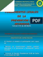 Fundamentos Legales de La Prevencion de Incendios