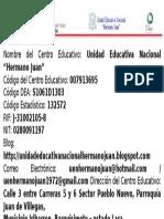 Información General Del Liceo