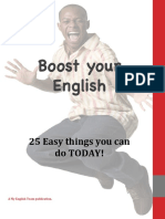 Boost Your English - 25 Things You Can Do Today!