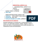 Agroindustrial Laredo s