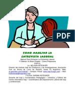 Libro Como Manejar La Entrevista Laboral.pdf