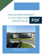 Plan de Mantenimiento (Planta Poniente)
