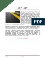 Type of Asphalt Paper