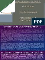 Ecosistemas de Emprendimiento