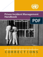 Prison Incident Management Handbook OROLSI Mar2013