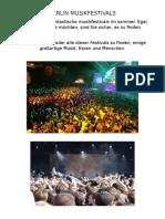 Musicfestivals Germany