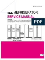 Lrspc2331xx Lg 22.8 Cu Ft Side by Side Refrigerator Service Manual