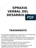 Dispraxia Verbal Del Desarrollo[1]Tratamiento