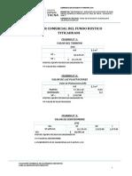 Valuación Comercial f.r. Titicahuani