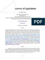 The Discovery of Agriculture