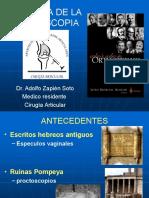 Historia de la artroscopia