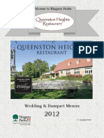 Queenston Heights Restaurant Banquet Wedding 2012