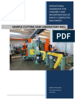 0-Laboratory Mill Sample Cutting Saw _Manual Completo