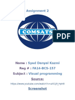 FA14-BCS-157