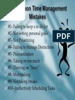 TM Mistakes