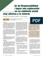 Julio 2013-Revista Minería- Plr Rse y El Proyecto Mariela