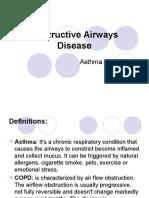 Obstructive Airways Disease