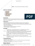 Medicamento Piridoxina 2014