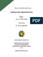 Laparascopy Appendektomy