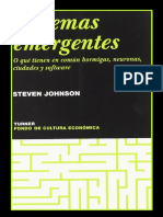 Sistemas Emergentes-Hormigas, Neuronas, Ciudades y Software-D. Johnson-2001-Libro