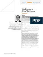 Cooking Up a Data Warehouse