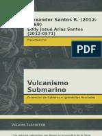 Vulcanismo Submarino