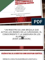 Consolidación Institucional- Didac II