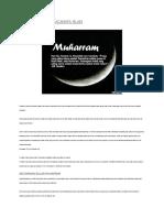 Muharram Dalam Kacamata Islam