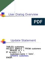 1.Dialog Programming