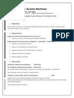 Curriculum I.
