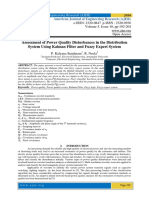 Assessment of Power Quality Disturbances in the Distribution System Using Kalman Filter and Fuzzy Expert System