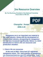's Mn Ore Overview by Tan Zhuzhong