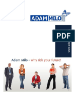 ADAM MILO Service Portfolio