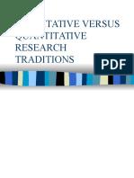 S Lesson 15 Qualitative and Quantitative Research