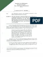 OCA Circulat No. 122 2016