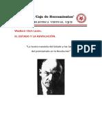 El Estado y La Revolucion UJCE