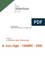 History Class 20 - Module 2-05-02-2015 Holicity Varanasi
