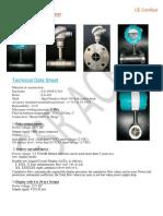 s.s.turbine Flow Sensor and Meter