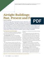Airtight Buildings