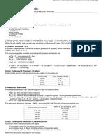 PE Pipes - Pressure Gradesa