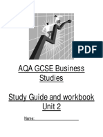 Business Studies Student Guide u2