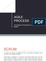Agile Process - Developers Perspective on Scrum