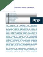 Esquizofrenia Dsm IV