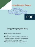 4 Solar Energy Storage System