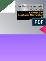 POLIDES (Pondok Bersalin Desa)